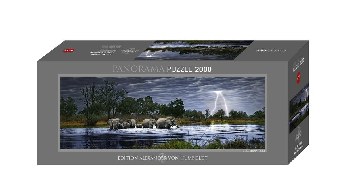 puzzle herd of elephants online kaufen. Black Bedroom Furniture Sets. Home Design Ideas